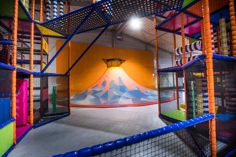 Sidijk indoor playgrounds climbing volcano