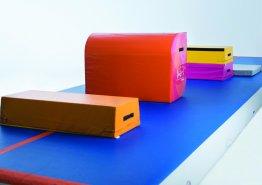 Plyobox, Easy Flip & Crashmat on Airtrack, Sidijk trainingproducts