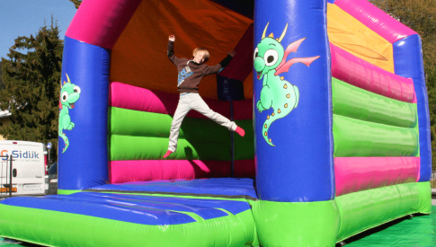 sidijk inflatable bouncy castle air cushion inflatable obstacle course