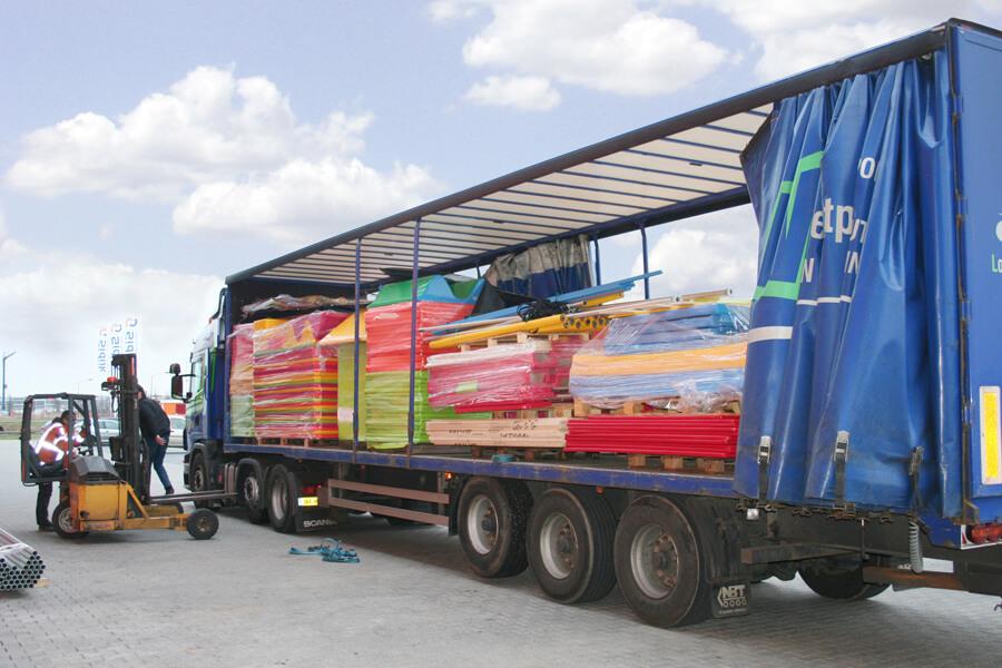 Vrachtwagen transport Sidijk