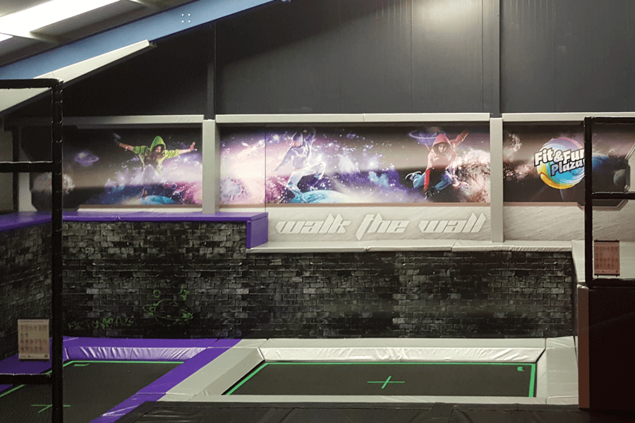 Design Fit & Fun Plaza design