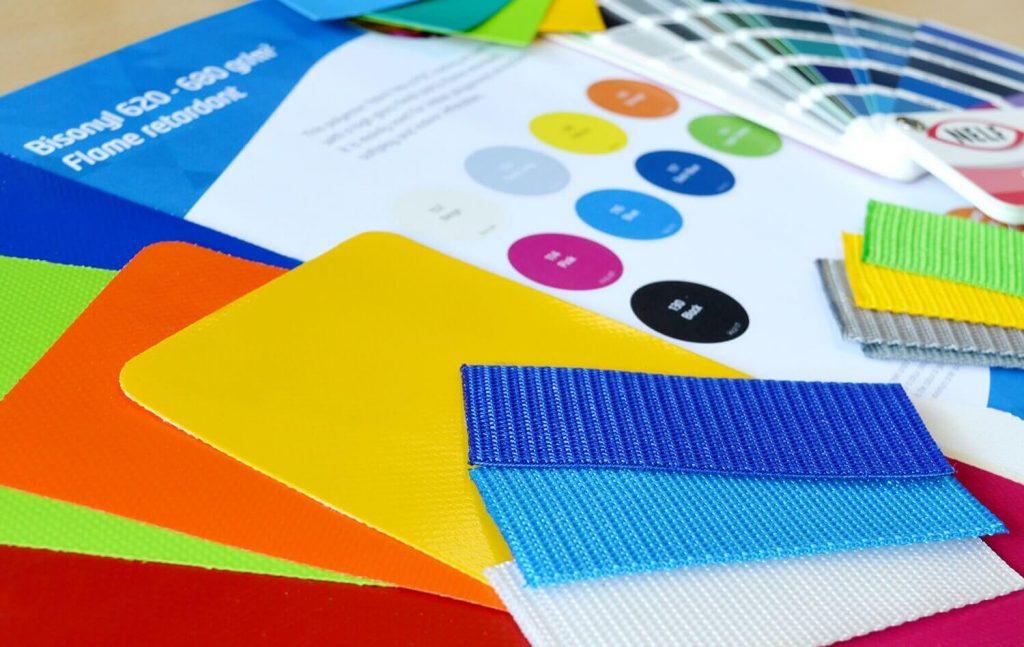 Kleuren Sidijk materiaal