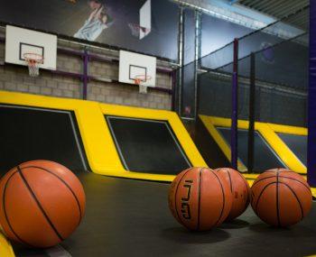 Sidijk Parcs de trampolines Zone de basket-ball