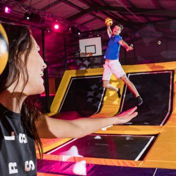 Sidijk trampolin park dodgeball producer
