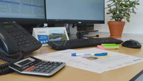 kantoor sidijk sales order planning